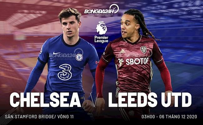 Nhận định Chelsea vs Leeds (03h00 ngày 6/12): Đại tiệc tấn công