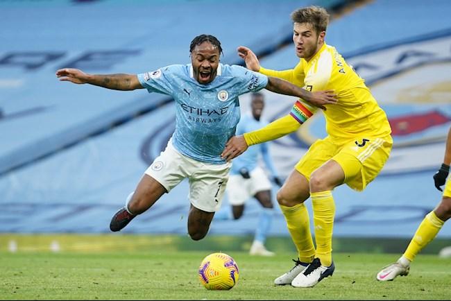 Sterling mang ve qua 11m cho Man City truoc Fulham