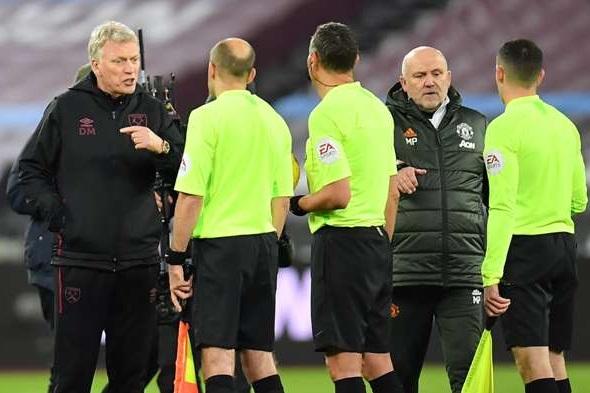 West Ham thua ngược MU, Moyes trút giận lên trọng tài hình ảnh 2