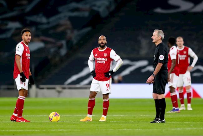 Arsenal thua tham Tottenham vong 11