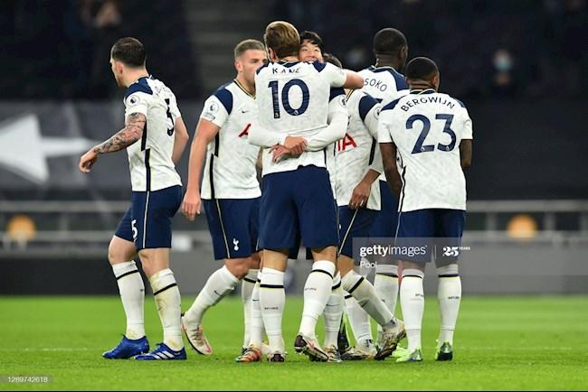 Tottenham danh bai Arsenal vong 11