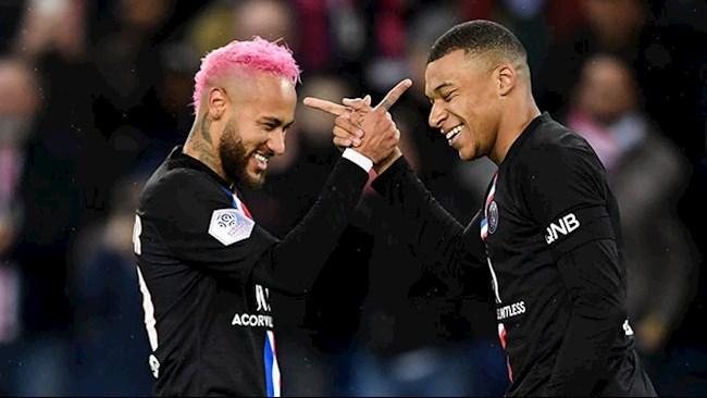 Tiền đạo Neymar tiết lộ mối quan hệ bất ngờ với Mbappe hình ảnh