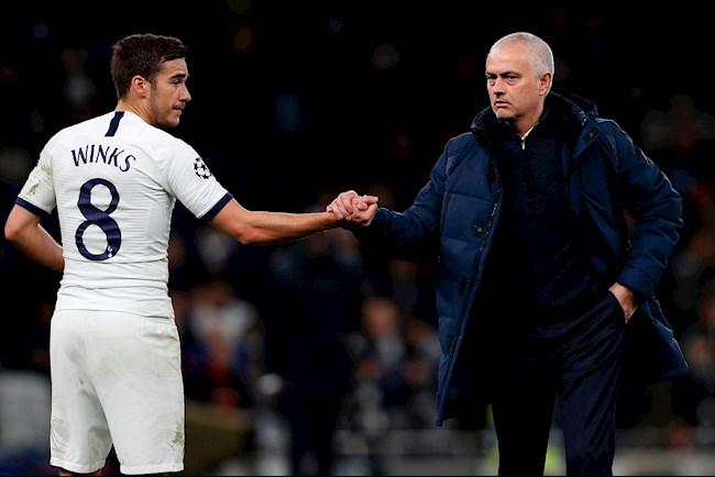 Tiền vệ Harry Winks gặp Mourinho đòi rời Tottenham hình ảnh