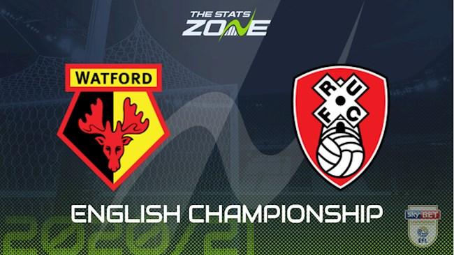 Watford vs Rotherham