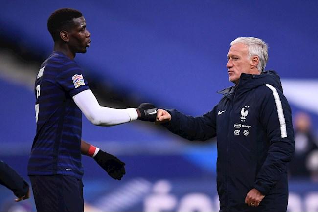 HLV Pháp nói gì khi đại diện tung hê Paul Pogba sắp rời MU hình ảnh