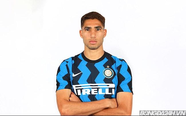 Tiểu sử cầu thủ Achraf Hakimi tiền vệ câu lạc bộ Inter Milan hình ảnh