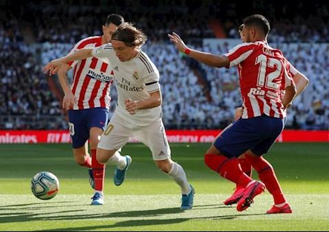 Real Madrid thắng nhẹ Atletico Khác biệt tới từ HLV Zidane hình ảnh