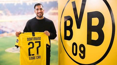 Dortmund ký hợp đồng với tiền vệ Emre Can  hình ảnh