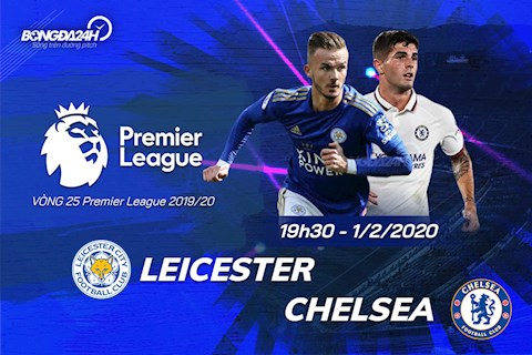 Leicester vs Chelsea vong 25 Ngoai hang Anh 2019/20