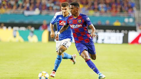 Moussa Wague rời Barca tới Nice theo dạng cho mượn hình ảnh