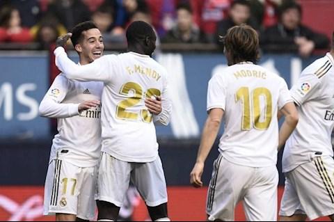 Osasuna 1-4 Real Lucas Vazquez an mung
