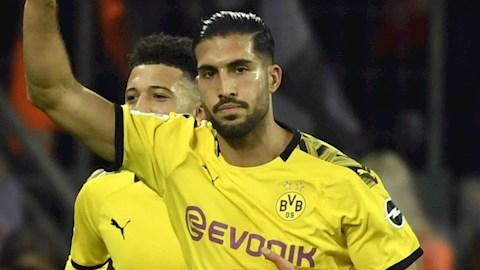 Emre Can ngán ngẩm khi Dortmund không biết cách chơi bẩn hình ảnh