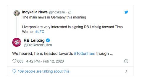 Leipzig trêu ngươi Liverpool, rao bán chủ lực trên mạng xã hội hình ảnh 2