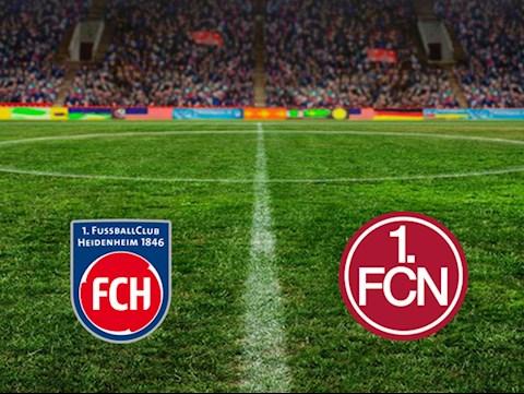 Heidenheim vs Nurnberg 0h30 ngày 152 Hạng 2 Đức 201920 hình ảnh