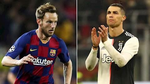 Rakitic thổ lộ mong muốn chơi bóng cùng Ronaldo hình ảnh