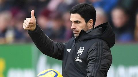 Arsenal chưa thắng nhiều, HLV Arteta vẫn lạc quan hình ảnh