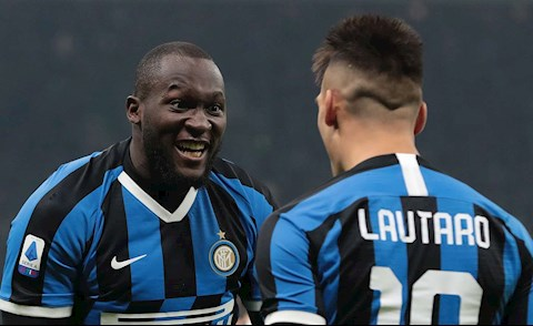 Chỉ PSG có thể so sánh được với cặp tiền đạo của Inter Milan hình ảnh