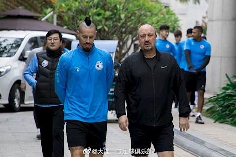 Mùa dịch Covid-19 đối với một đội bóng Trung Quốc