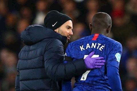 HLV Lampard len tieng ve chan thuong cua Kante