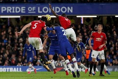 Chelsea 0-2 MU Maguire ghi ban