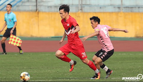 Hoang Duc Ha Noi vs Viettel giao huu