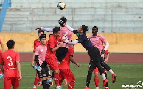 Nguyen Manh Ha Noi vs Viettel giao huu