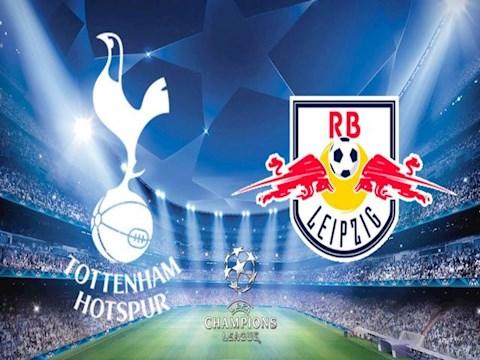 Tottenham vs RB Leipzig luot di vong 1/8 C1 2019/20