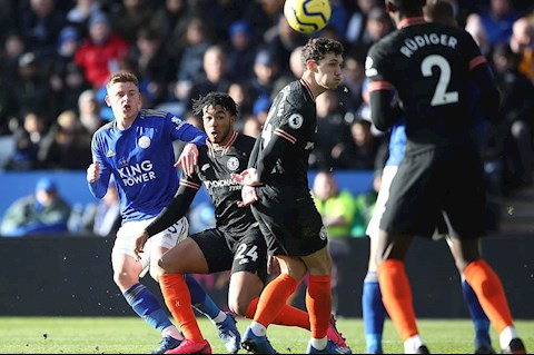 Leicester 2-2 Chelsea Harvey ghi ban