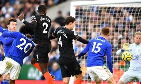 Leicester 2-2 Chelsea Rudiger ghi ban