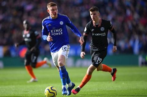 Leicester 2-2 Chelsea Mason Mount tranh bong