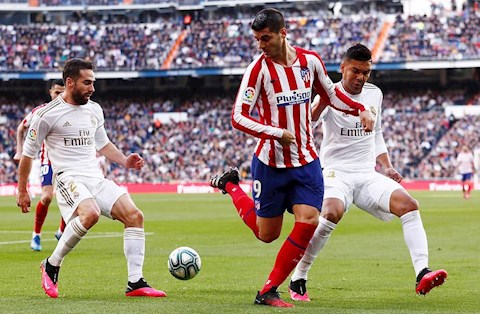Real 1-0 Atletico Morata vs Carvajal