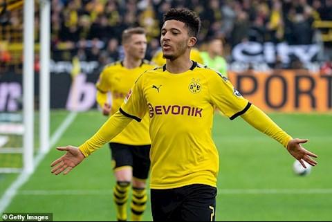 Sao trẻ Jadon Sancho đi vào lịch sử Bundesliga hình ảnh