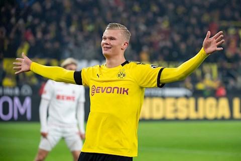 Erling Haaland tỏa sáng liên tục trong màu áo Dortmund hình ảnh