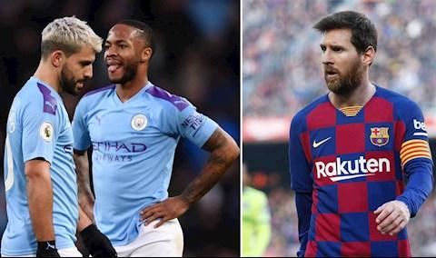Messi xúi các sao bỏ Man City sau án cấm dự Champions League hình ảnh 2