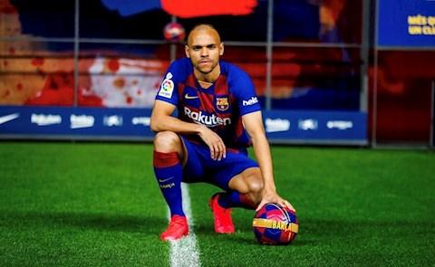 Martin Braithwaite Nếu bóng đá là một tôn giáo, Messi là Chúa hình ảnh