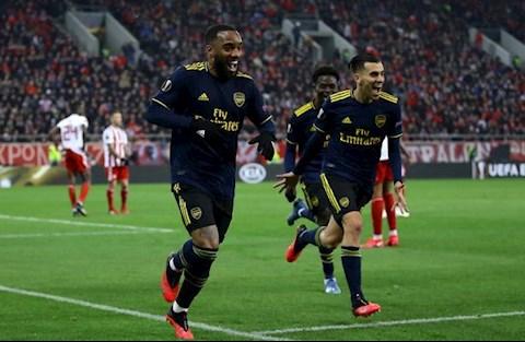 Olympiacos 0-1 Arsenal Đoàn quân của Arteta ngày càng vững vàng hình ảnh