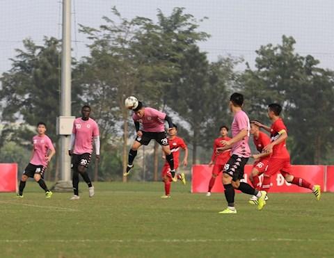 Hà Nội FC vẫn bất phân thắng bại trước Viettel FC hình ảnh