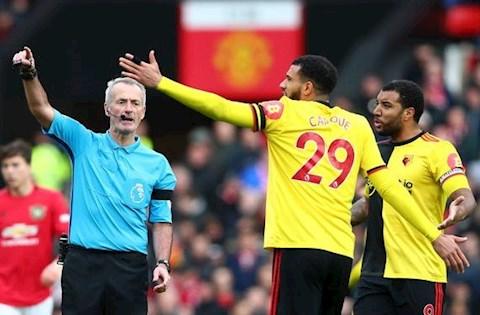 MU 3-0 Watford VAR tu choi Watford