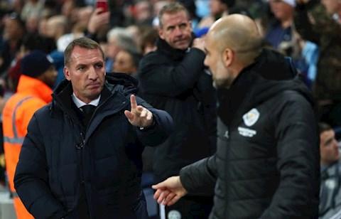 HLV Brendan Rodgers nói về trận Leicester vs Man City hình ảnh