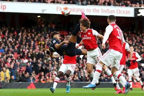 Arsenal 3-2 Everton Calvert-Lewin ghi ban