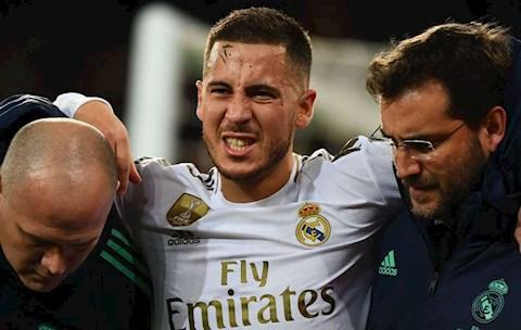 Real Madrid cập nhật tình hình chấn thương của Eden Hazard hình ảnh
