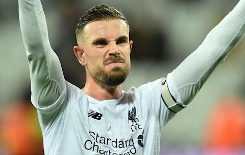 King Kenny ca ngợi thủ lĩnh Jordan Henderson của Liverpool hình ảnh
