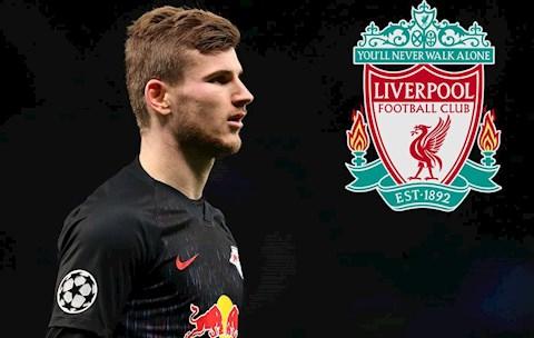 Mục tiêu của Liverpool, Timo Werner khen Klopp giỏi nhất quả đất hình ảnh