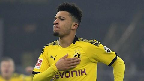 Tương lai Jadon Sancho được Dortmund quyết định hình ảnh