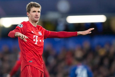45 phút của Thomas Muller trong trận cầu Chelsea 0-3 Bayern Munich