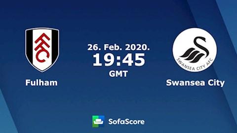 Fulham vs Swansea 2h45 ngày 272 Hạng nhất Anh 201920 hình ảnh