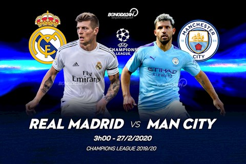 Real vs Man City va