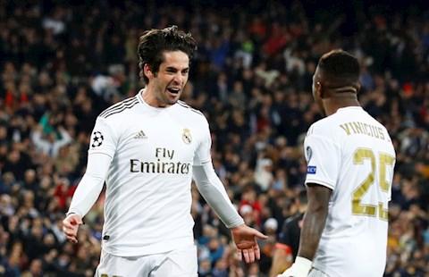 Isco dem ve ban thang cho Real Madrid