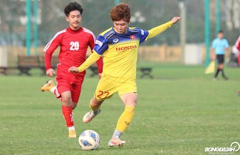 ĐT nữ Việt Nam thua đậm cựu tuyển thủ U23 Việt Nam hình ảnh