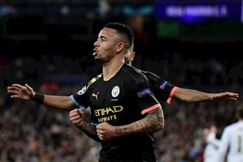 Real Madrid 1-2 Man City Jesus ghi ban